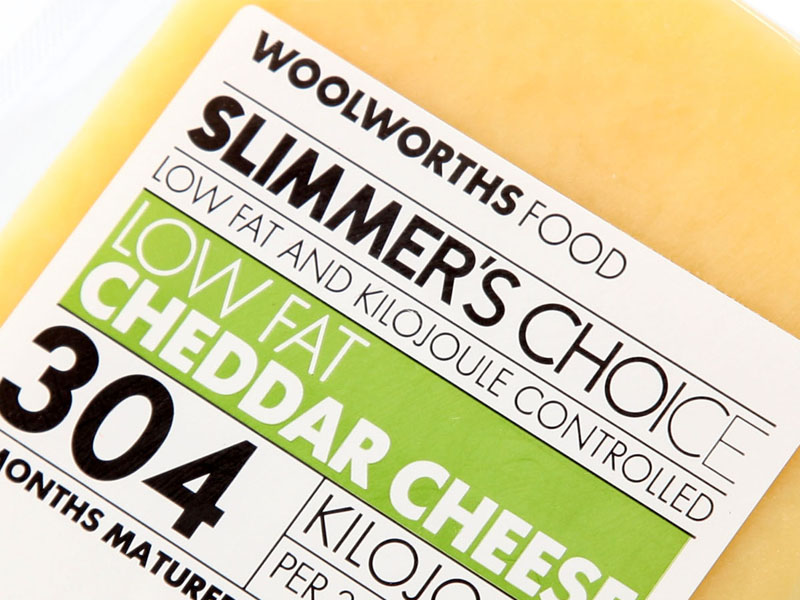 Woolworths Slimmers Cheese