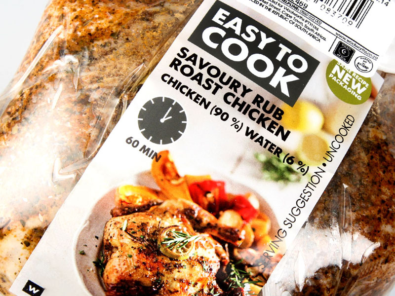 Woolworths Food Label 2
