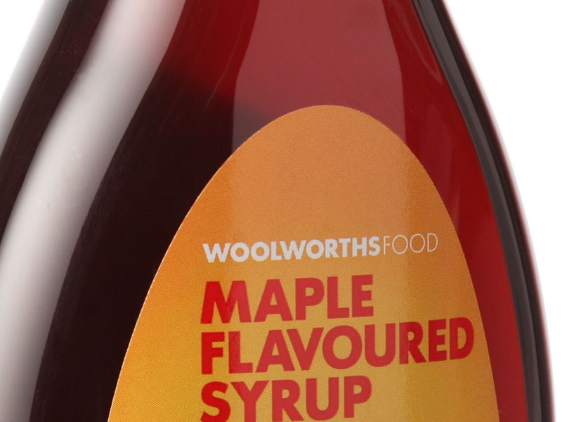 Woolworths Maple syrup 1